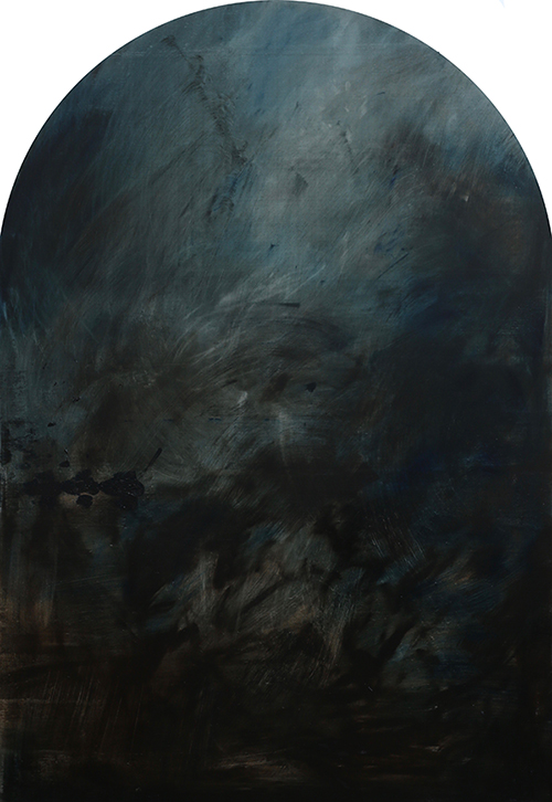 The Assumption, with Prussian Blue - Jake Wood-Evans