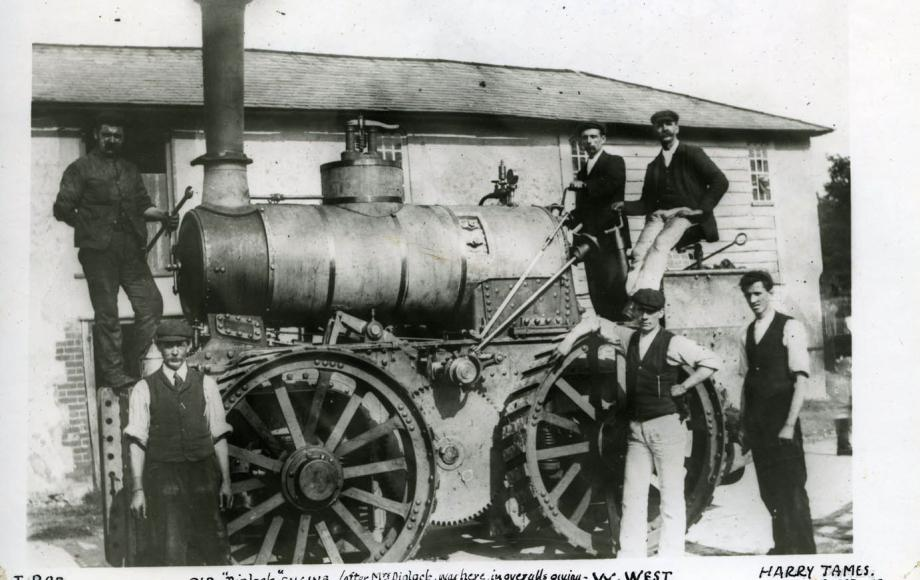 Andover steam engine, 1900