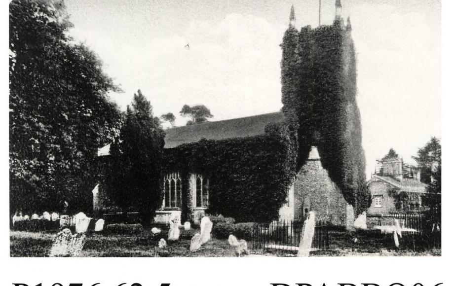 St Mary's Church, Bishopstoke 1890