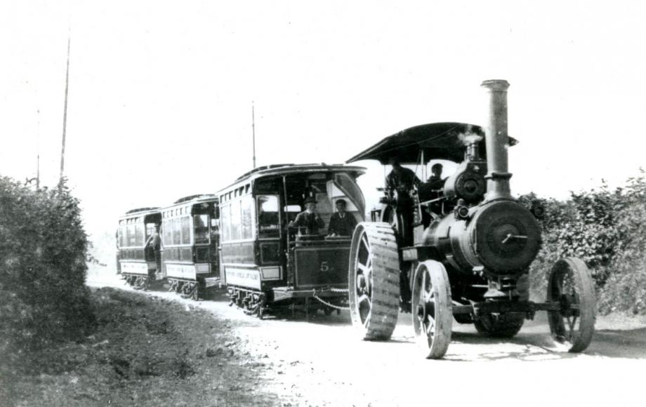 Steam engine 1910-1920