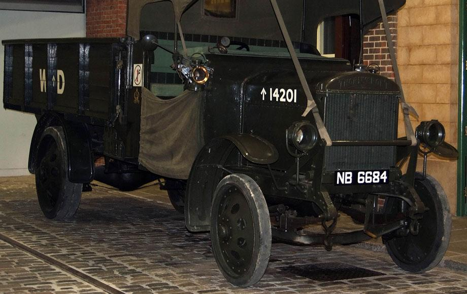 Lorry, J-Type military general service lorry