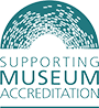 Supporting museum accreditation logo