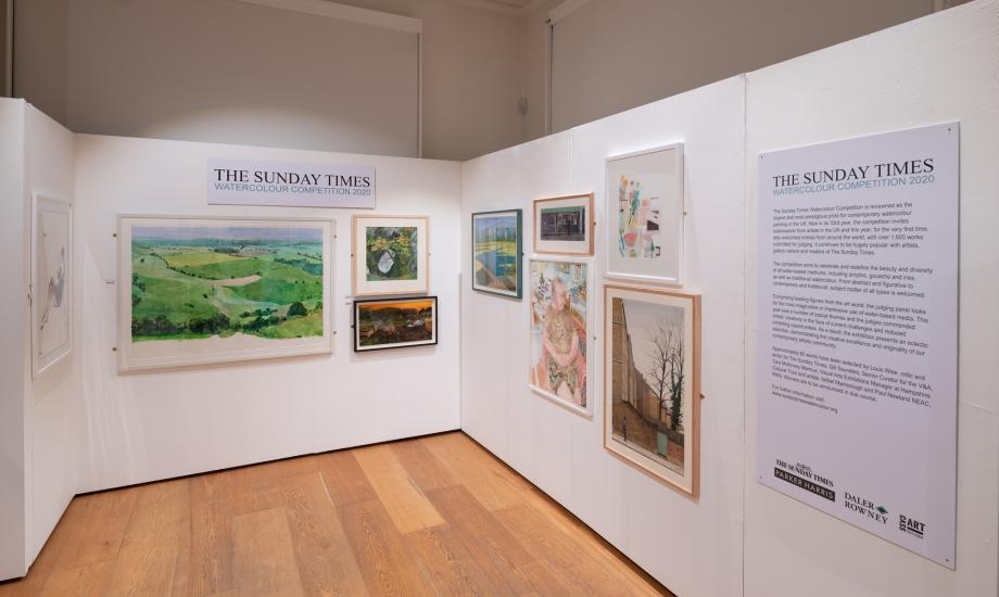 Sunday Times exhibition gallery view 2