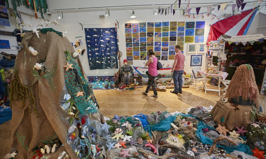 Making a Splash Exhibition at Gosport Gallery