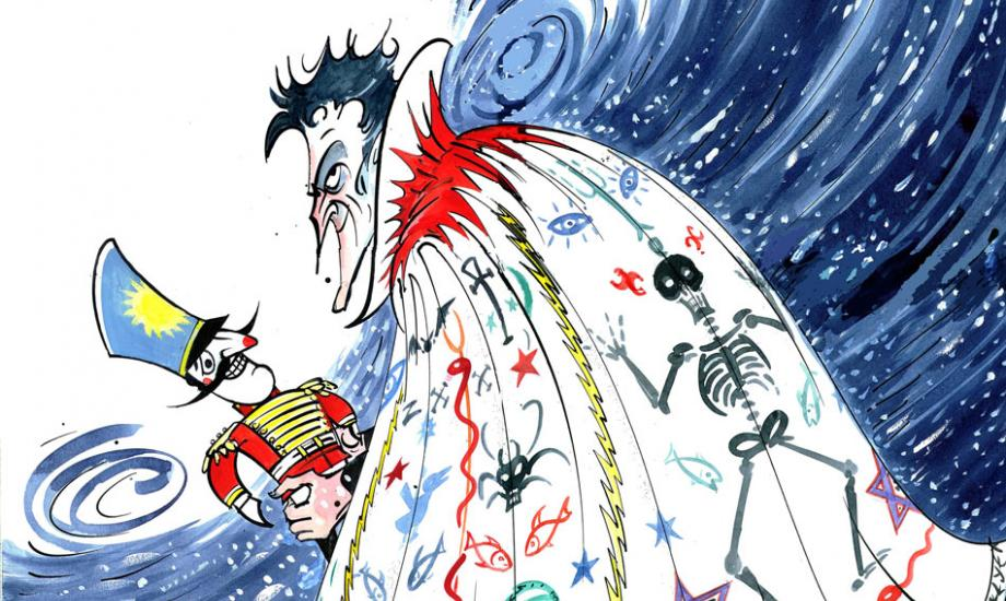 Gerald Scarfe: Stage and Screen Exhibition