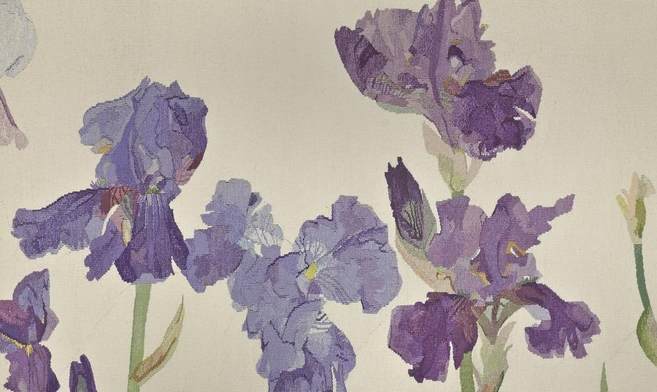 Irises (detail), Elizabeth Blackadder