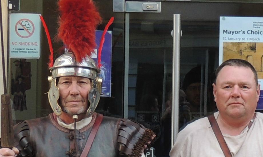 Meet the Romans at City Museum