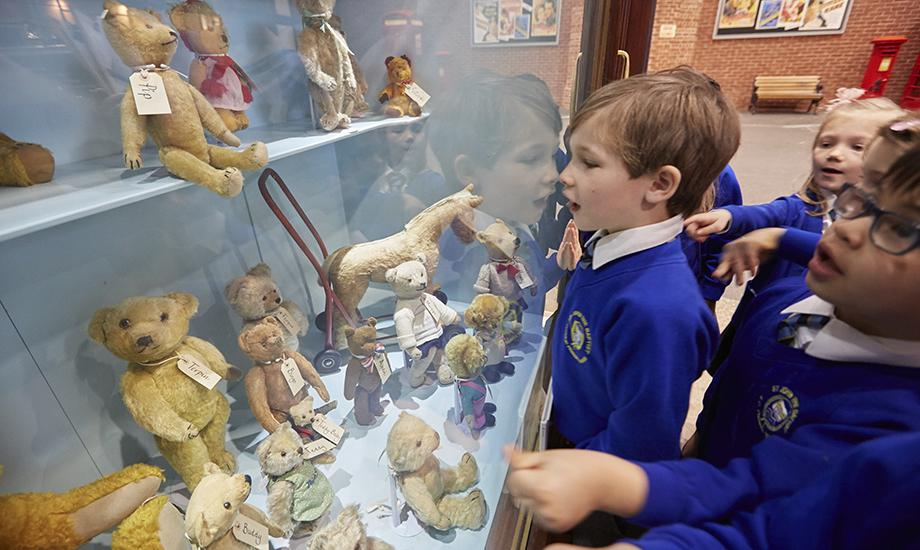 A toys and games session at Milestones Museum