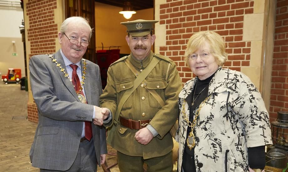 With the First World War Soldier