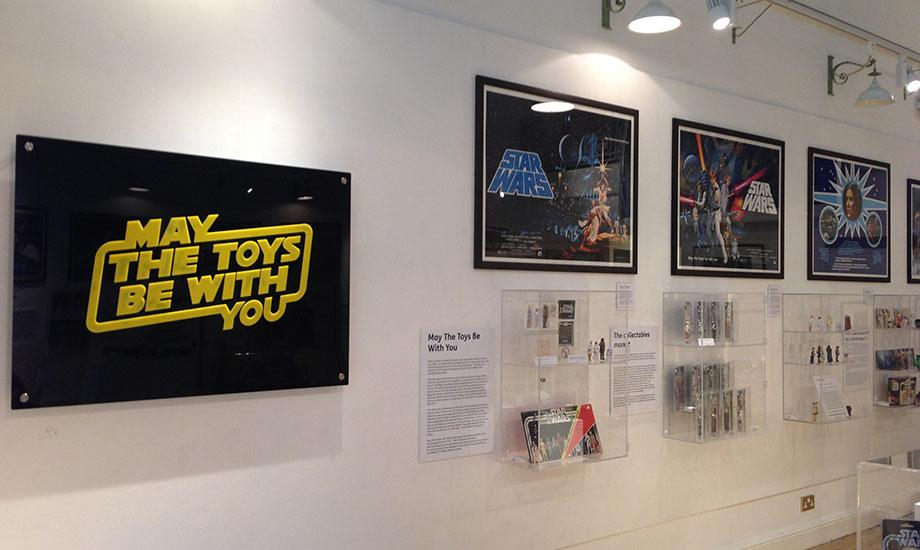 Gosport Gallery Star Wars Exhibition