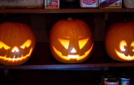 Fright Night Pumpkins