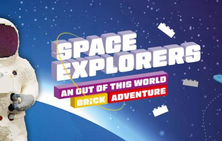 Lego space explorers logo