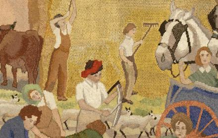 WI Women At War tapestry
