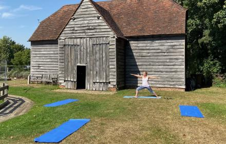 Yoga at Bursledon Windmill