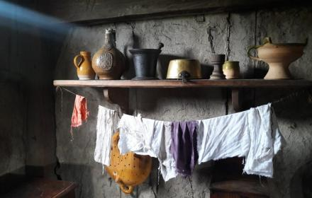 Pots and Pot Washing - Image courtesy of Plimoth Plantation Museums