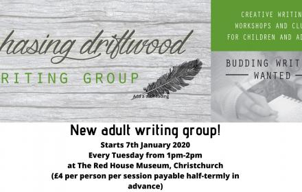 chasing driftwood writing group logo