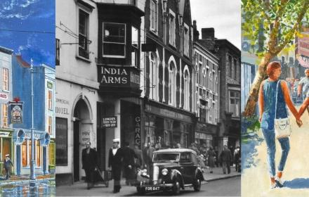 Images of Gosport High Street past and present
