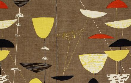 Calyx furnishing fabric (detail) 1951 ©The Robin and Lucienne Day Foundation