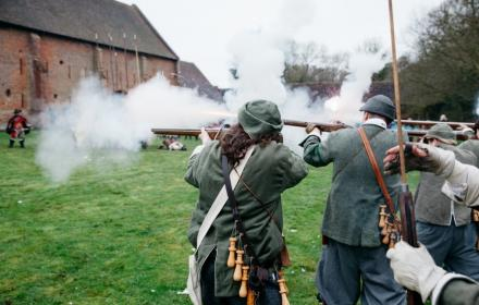 Sealed Knot musket fire