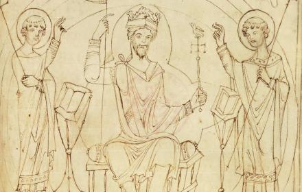 Depiction of William the Conqueror, perhaps in Winchester in 1070