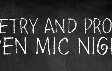 Poetry & Prose Open Mic Night