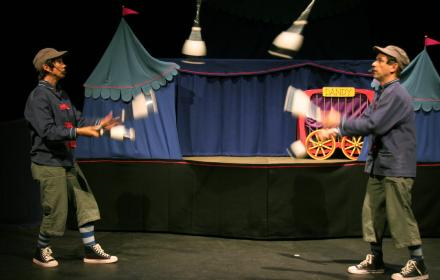 The DaSilva Marionette Circus Troupe