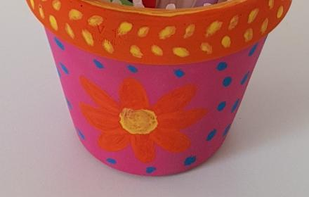 Paint your own Plant Pot Workshop