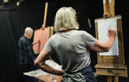 Autumn 19 - Tutored Life Drawing (2nd Half Term)