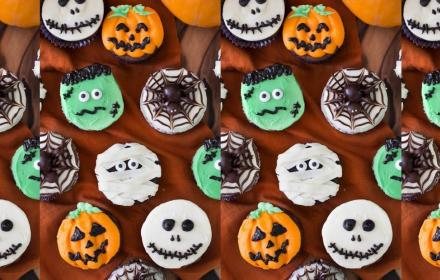 Children's Festival: Halloween Cupcake Decorating and Pom Pom Spider Making