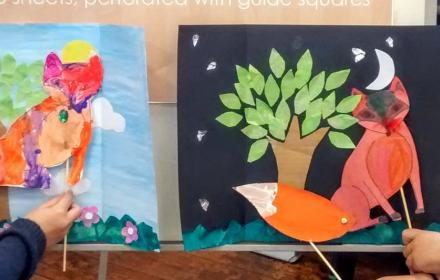 Children's Festival: Make Your Own Paper Puppet Theatre