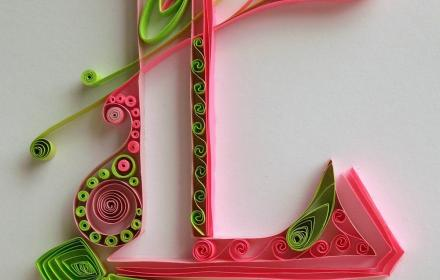 Letter Quilling