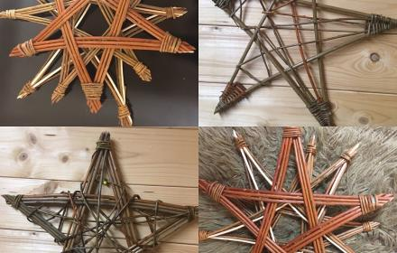 Christmas Willow Stars