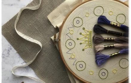 Online: Get started with hand embroidery